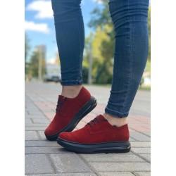 Женские классические туфли из велюра