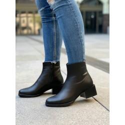 Женские классические ботинки из натуральной кожи
