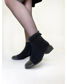 Полуботинки с отрезным носком
